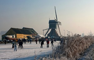patinaj pe gheata naturala in olanda
